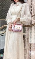 新款韩版超长裙连衣裙